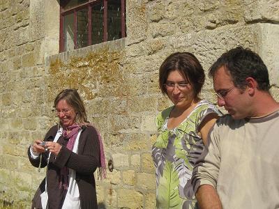 3 touristes !