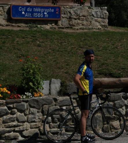 Première victoire : le Télégraphe 12 km d'ascension.